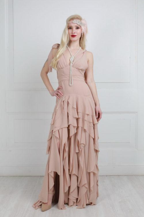 платье в стиле 20-х прокат