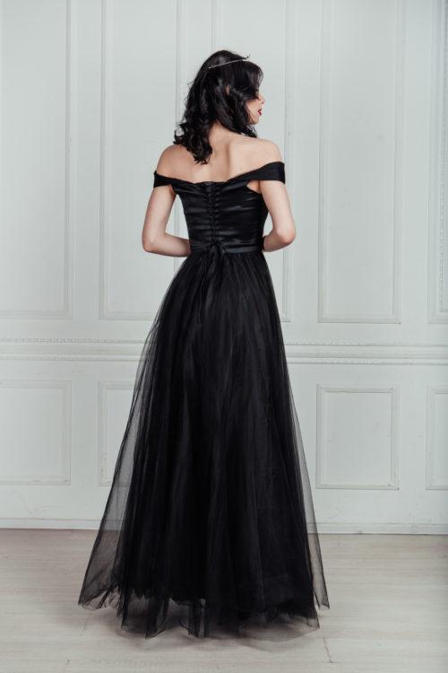 фатиновое платье в пол прокат