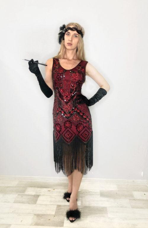 платье в гангстерском стиле