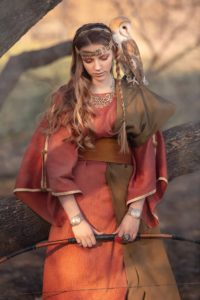 римский женский костюм