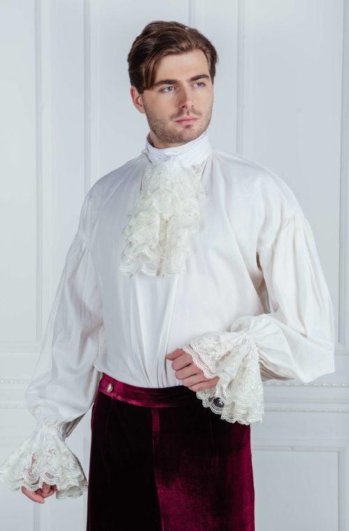 Мужская рубашка 18 века.