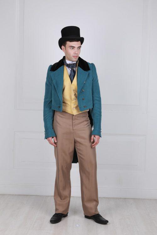 Костюм джентельмена 19 века