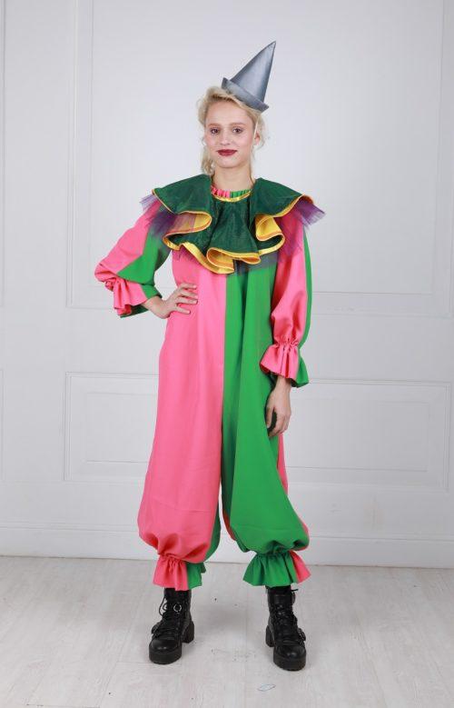 Костюм клоуна зеленый