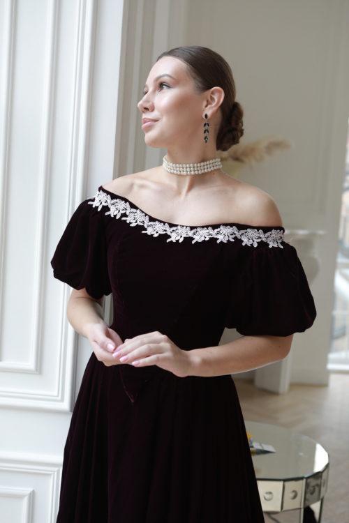 мрачное платье 19 века