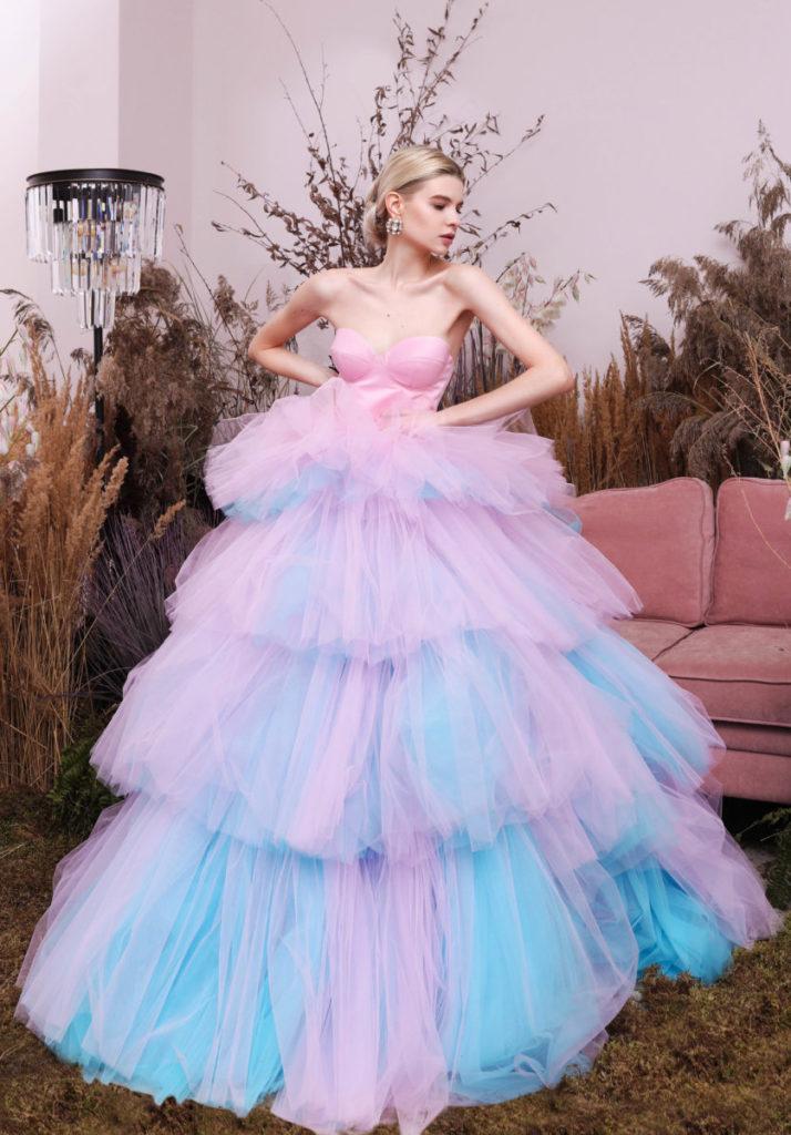 платье из фатина на фотосессию